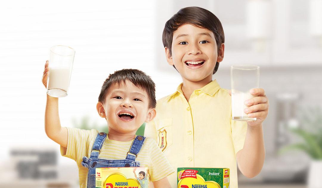 kandungan gula pada susu dancow